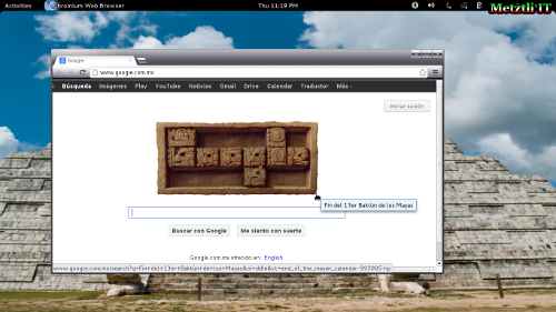 Google's Doodle Celebrates Maya's End of 13 Baktun