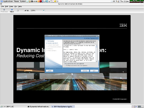 IBM WebSphere Application Server CE License Agreement.