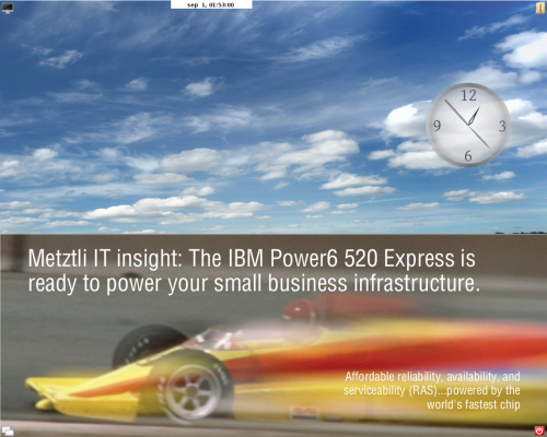 IBM Power6 ...powered by the world's fastetst chip
