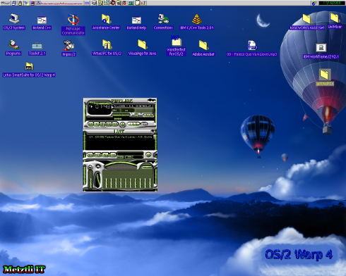JlGui 3.0 - bright green skin - GCD OS/2 Java 1.4.x