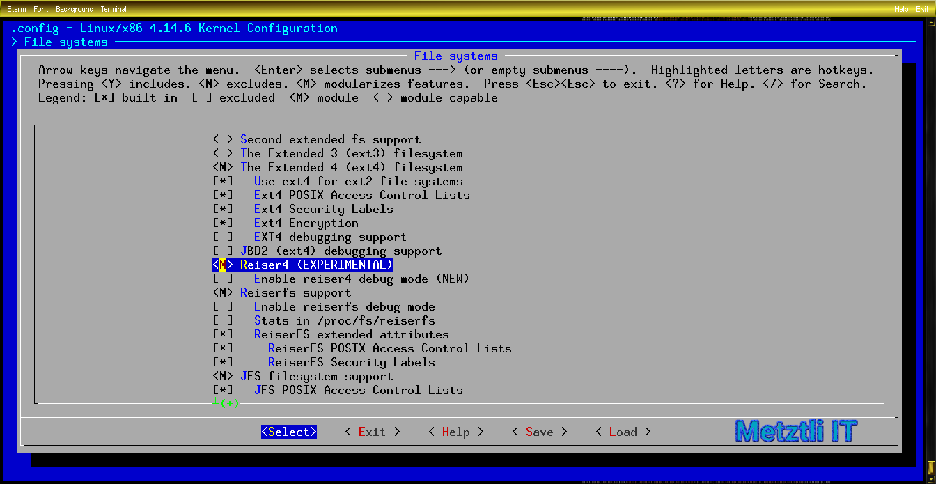 Building New Reiser4, Software Format Release Number 4.0.2, and Zstd Compression, Debian Stretch-Backports Kernel.