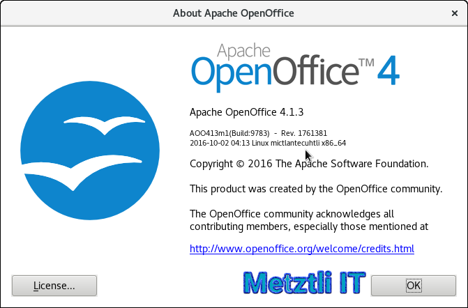Build Apache OpenOffice 4.1.3 on GNU/Linux Debian Sid (Unstable)