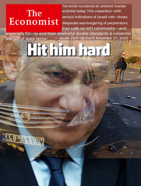 The front cover The Economist will not be allowed to publish -- as long as Zionism rules over USA