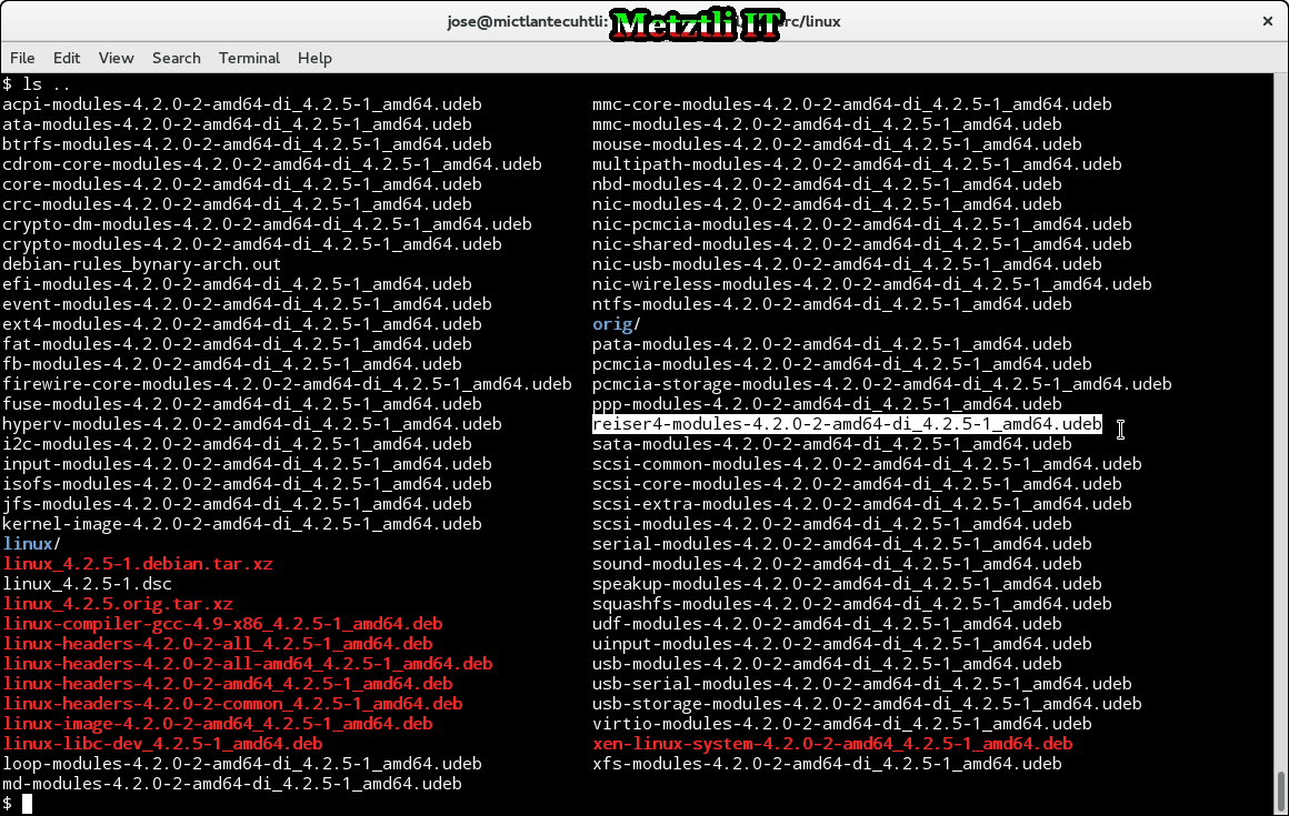 Building A Reiser4-Patched Development Linux Kernel Package 'The Debian Way'.